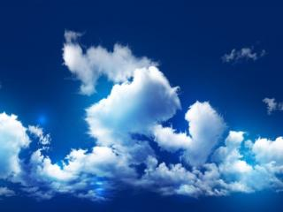 обои Белые облака фото
