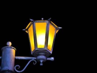обои Старинный уличный фонарь фото