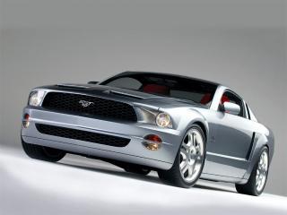 обои Mustang GT silver фото