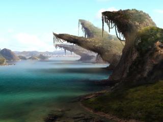 обои скалистые берега острые фото