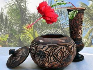 обои Доминиканские вазы фото