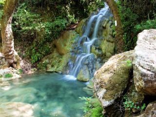 обои Нежный водопадик фото