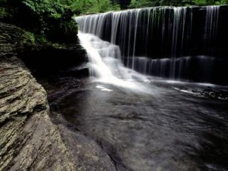 обои Слияние водопадов фото