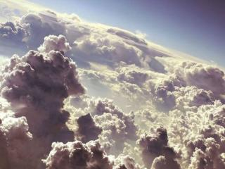 обои Кучевые облака фото