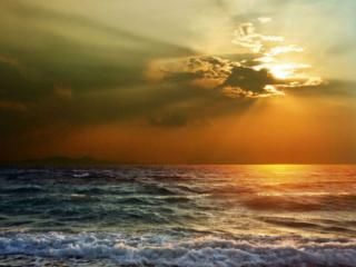 обои Небо над морем фото