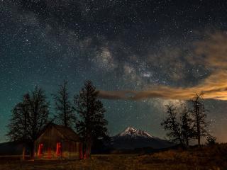 обои Ночное небо фото