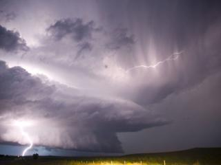 обои Стенообразное облако,   Канзас,   США фото