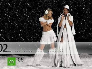 обои НТВ - Дана Борисова и Елена Ханга фото