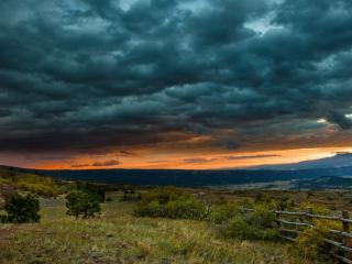обои Пасмурное небо нависшее фото