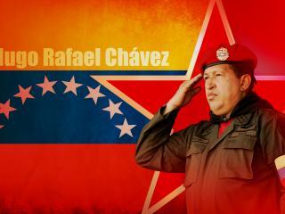 обои Великий команданте-Уго Чавес фото