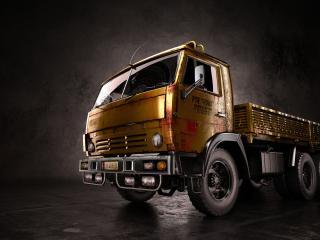 обои Камаз грузовик фото