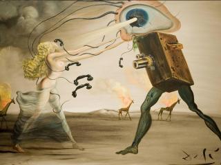 обои Сюрреализм известного испанского живописца-Сальвадора Дали фото