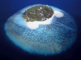 обои Красивый островок в окeане фото