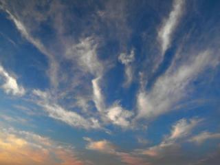 обои Вечернее весеннее небо фото