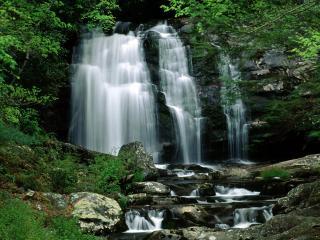 обои Потоки водопадoв фото