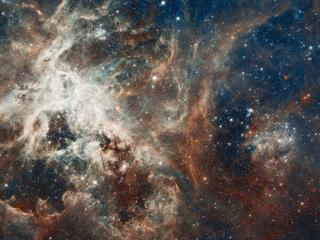 обои Мириады звезд и галактик в космосе фото