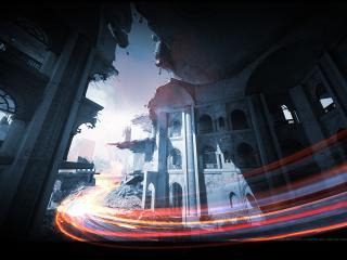 обои Вид зданий эпизода из игры фото