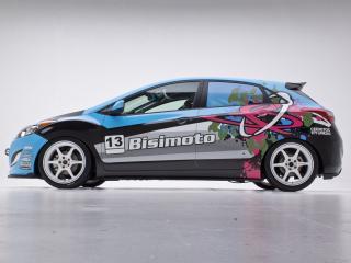 обои Bisimoto Engineering Elantra GT Concept (GD) 2012 бок фото