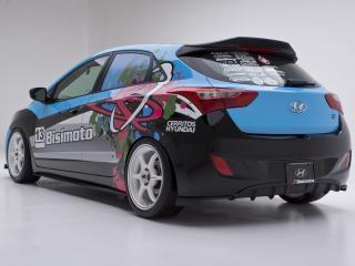 обои Bisimoto Engineering Elantra GT Concept (GD) 2012 задок фото