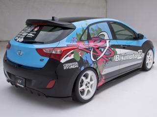 обои Bisimoto Engineering Elantra GT Concept (GD) 2012 сила фото