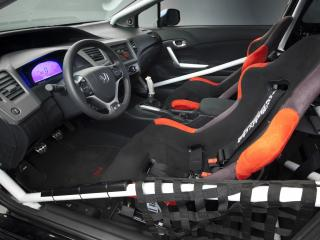 обои Honda Civic Si Coupe by Bisimoto Engineering 2011 салон фото