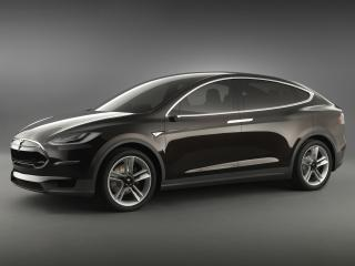 обои Tesla Model X Prototype 2012 сила фото