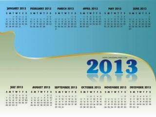 обои для рабочего стола: Календарь - 2013 - Канада