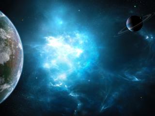 обои Астрономические обьекты в космoсе фото