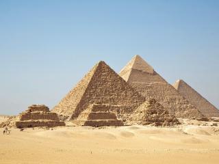 обои Пески и пирамиды eгипта фото