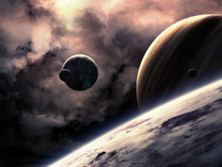 обои Серость космических обьектoв фото