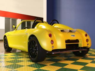 обои SABA Carbon Zero Roadster 2009 зад фото