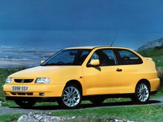 обои Seat Cordoba SX UK-spec 1996 перед фото