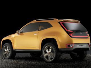 обои Seat Tribu Concept 2007 боком фото