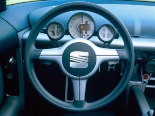 обои Seat Formula Concept 1999 руль фото