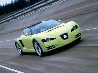 обои Seat Formula Concept 1999 скорость фото