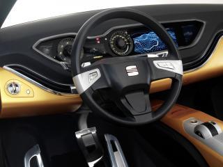 обои Seat Tribu Concept 2007 руль фото