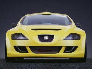 обои Seat Tango Coupe Concept 2001 перед фото