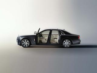 обои Rolls-Royce 200EX Concept 2009 открыто фото