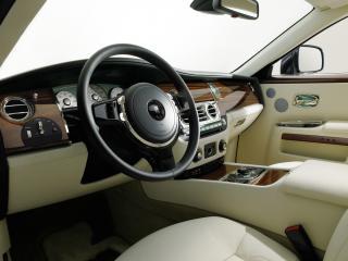 обои Rolls-Royce 200EX Concept 2009 руль фото