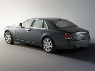 обои Rolls-Royce 200EX Concept 2009 сбоку фото