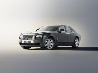 обои Rolls-Royce 200EX Concept 2009 спереди фото