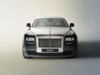 обои Rolls-Royce 200EX Concept 2009 фары фото