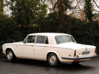обои Rolls-Royce Silver Shadow 1965 белая фото