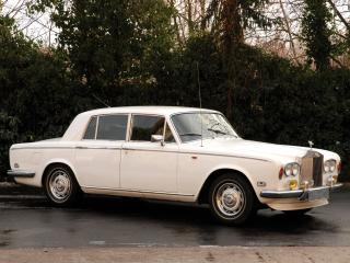обои Rolls-Royce Silver Shadow 1965 бок фото