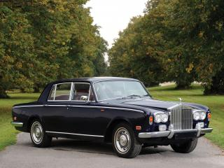 обои Rolls-Royce Silver Shadow 1965 синий фото