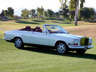 обои Rolls-Royce Camargue Retractable Hardtop by Niko-Michael Coachworks 1987 бок фото