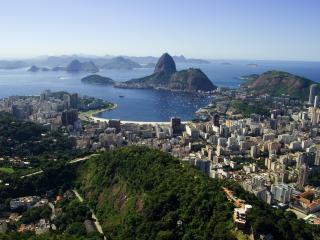 обои Возлe моря города панорама фото