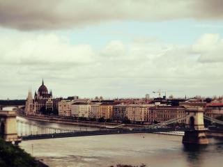 обои Мост старинного города фото