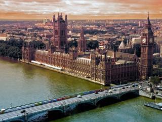 обои Один из лондонских мостов фото