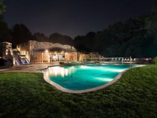 обои Вечерний бассейн фото